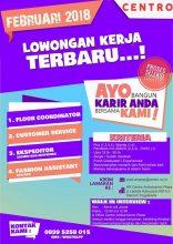 Update Info Lowongan kerja Centro Ambarukmo Plaza (AMPLAZ) Yogyakarta, perusahaan…